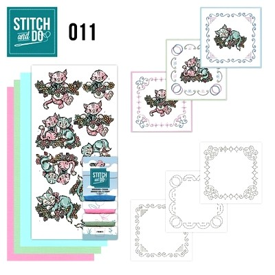 Stitch and Do nr. 11  Katjes