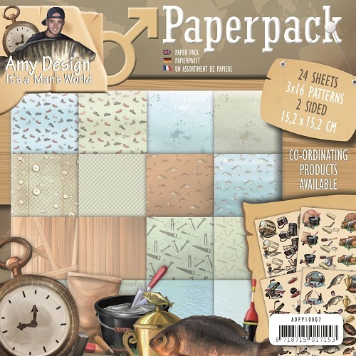 Paperpack Amy Design It`s a Men`s World