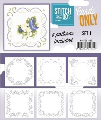 Stitch & Do Only Cards set 1