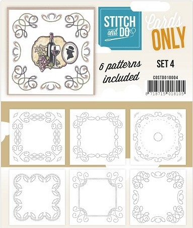 Stitch & Do Only Cards set 4