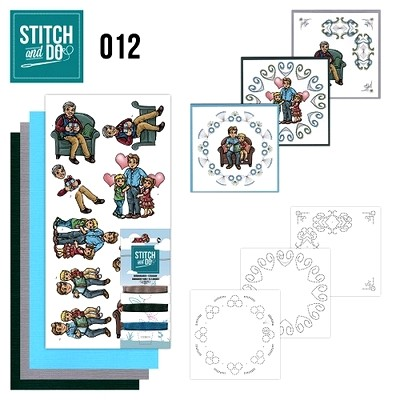 Stitch and Do nr. 12  Vaderdag
