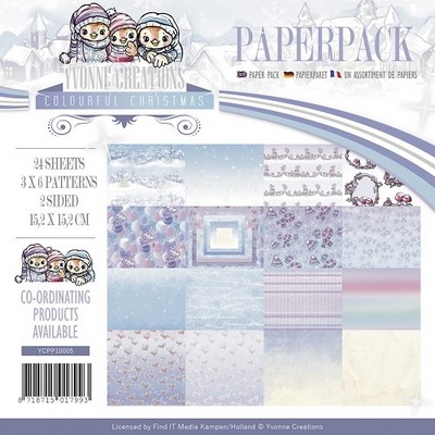 Paperpack Yvonne Creations Colourful Christmas