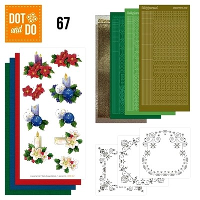 Dot & Do 67 Christmas Candles