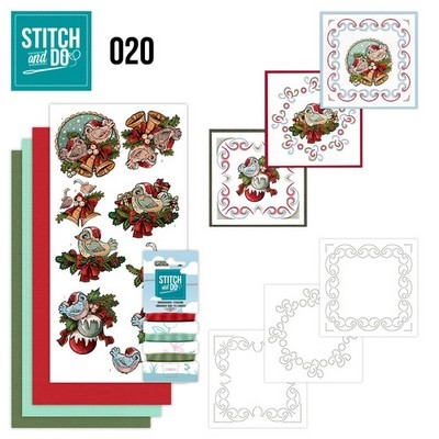 Stitch and Do nr. 20 Christmas Tweety