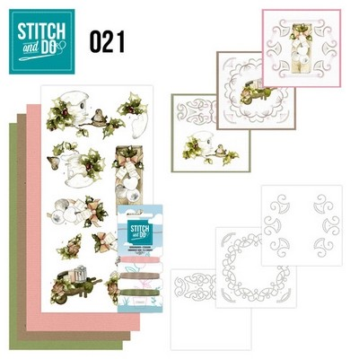 Stitch and Do nr. 21 Rustic Christmas