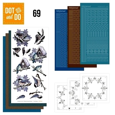 Dot & Do 69 Winter Birds