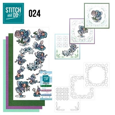Stitch and Do nr. 24  Fairies