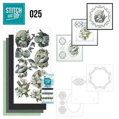 Stitch and Do nr. 25  Condoleance