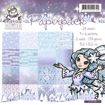 Paperpack Yvonne Creations - Magical Winter
