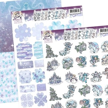 Minis & Labels Yvonne Creations - Magical Winter