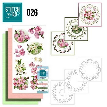 Stitch and Do nr. 26 Spring Flowers
