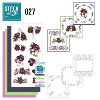 Stitch and Do nr. 27  Flowers