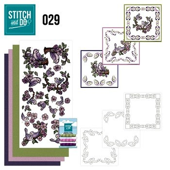 Stitch and Do nr. 29 Birds