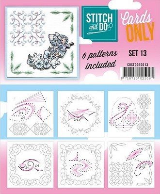Stitch & Do Only Cards set 13