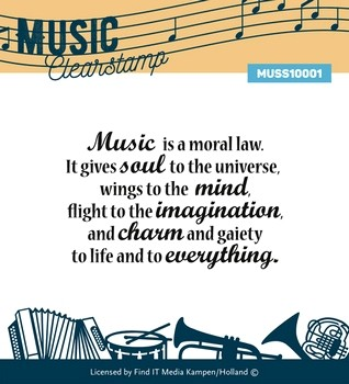 Music Serie Clear Stamp