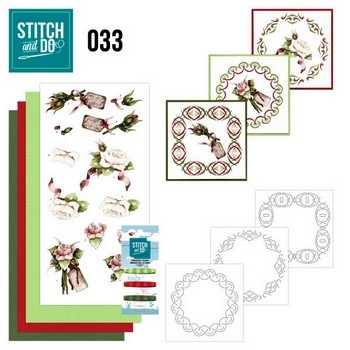 Stitch and Do nr. 33 Roses