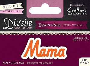 Essentials Only Words - Mama