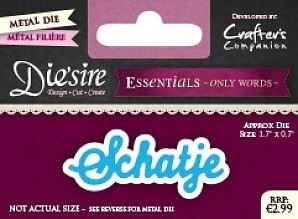 Essentials Only Words - Schatje