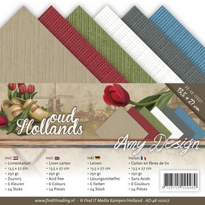Linnenpakket Vierkant - Amy Design - Oud Hollands
