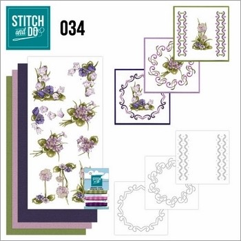 Stitch and Do nr. 34  Field Flowers