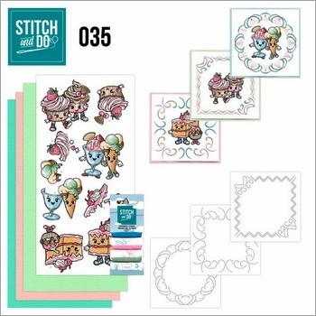 Stitch and Do nr. 35  Cupcakes