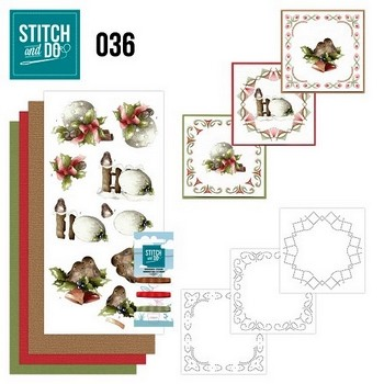 Stitch and Do nr. 36  Kerstversieringen