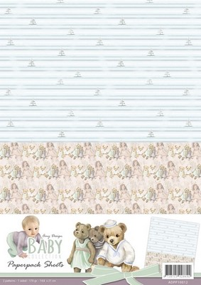 Background Amy D. Baby Collection Sheet 2