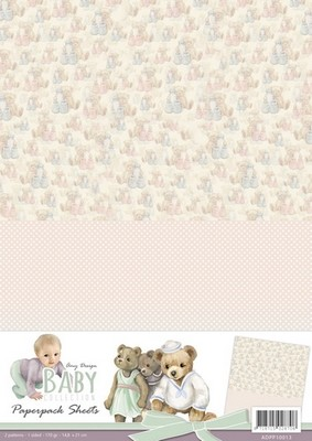 Background Amy D. Baby Collection Sheet 3