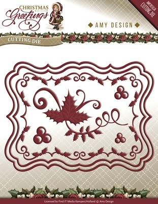 Die van Amy Design - Christmas Greetings - Card Set