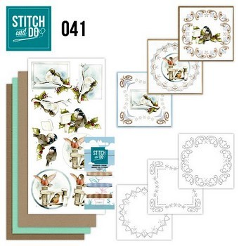 Stitch and Do nr. 41 - Kerstvogeltjes