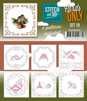 Stitch & Do Only Cards - set 19