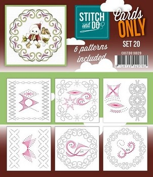 Stitch & Do Only Cards - set 20