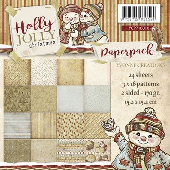 Paperpack -Yvonne Creations - Holly Jolly