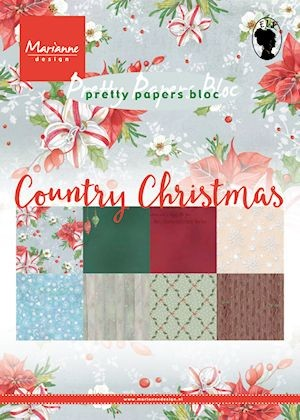 Marianne D. Creatable Pretty Paper Country Christmas