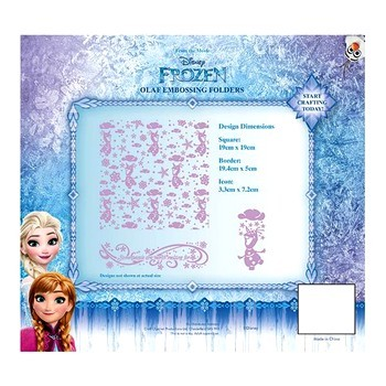 Disney Frozen Embossing Folder
