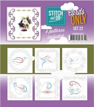 Stitch & Do Only Cards - set 22