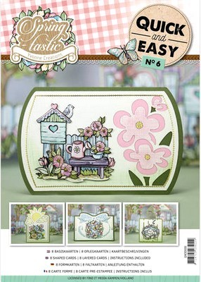 Quick and Easy 6 - Yvonne Creations - Spring-tastic!