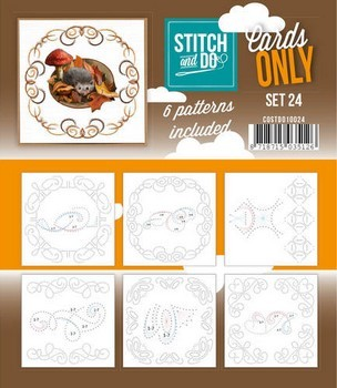 Stitch & Do Only Cards - set 24