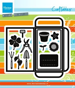Marianne D. Craftables Seed pocket/garden tools