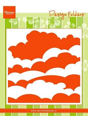 Marianne D. Design Folder Clouds