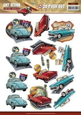 Push-out - Amy Design - Vintage Vehicles