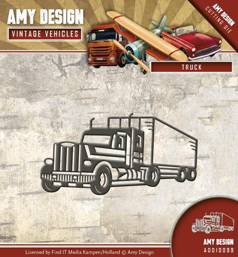 Die - Amy Design - Vintage Vehicles - Vrachtauto
