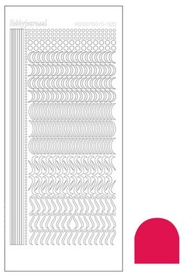 Hobbydots Mirror serie 20 Red