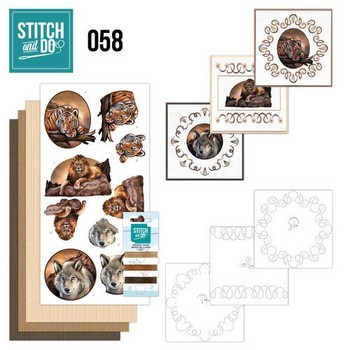 Stitch and Do 58 - Wild Animals