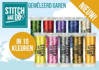 Stitch & Do Garen Gemêleerd - SET 10 kleuren