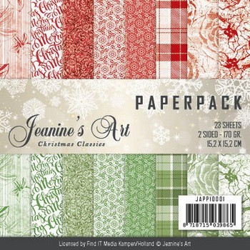 Paperpack - Jeanine`s Art - Christmas Classics