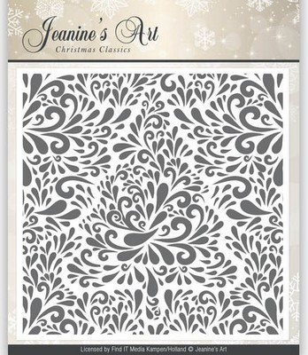 Embossing Folder - Jeanine`s Art - Christmas Classics