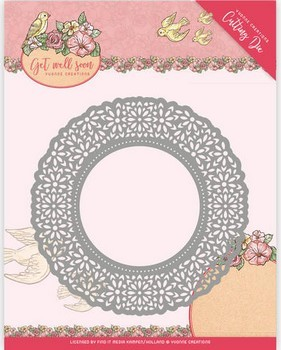 Die Yvonne Creations - Get Well Soon - Flower Doily