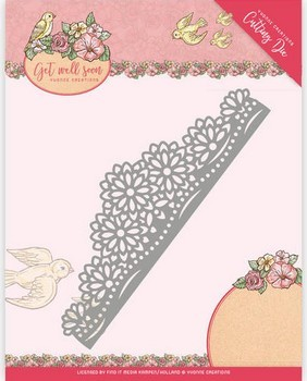 Die Yvonne Creations - Get Well Soon - Flower Border
