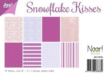 Joy! papierset Snowflake kisses